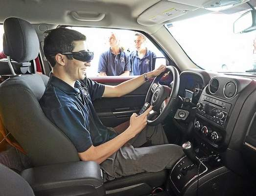 text-while-drive-simulation