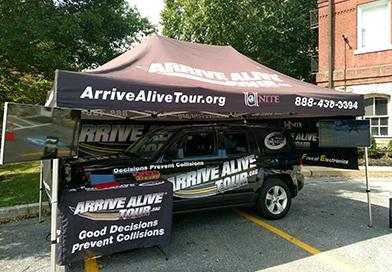 Arrive Alive Tour - Utica College 2