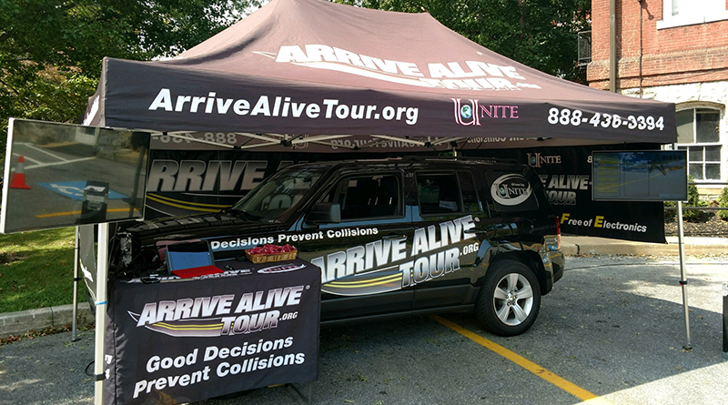 Arrive Alive Tour - Utica College 2