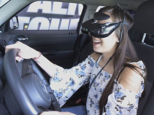 Arrive Alive Tour - Penn State York - Distracted Driving simulator