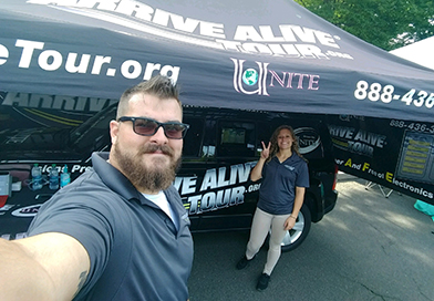 Arrive Alive Tour - Texting and Driving