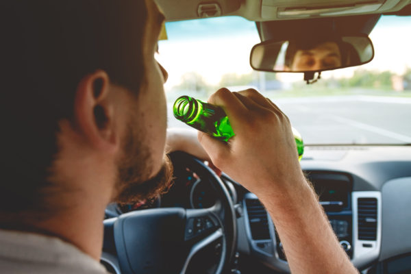 Drinking and driving laws in self-driving cars