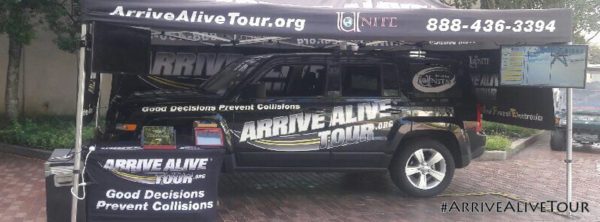 Arrive Alive Tour - Facebook Cover Photo 3