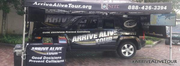 Arrive Alive Tour - Facebook Cover Photo 3