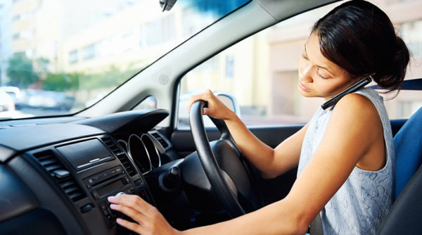 Oregon Distracted Driving Law