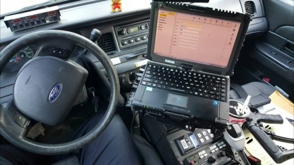 Technology in cop cars lead to distracted driving