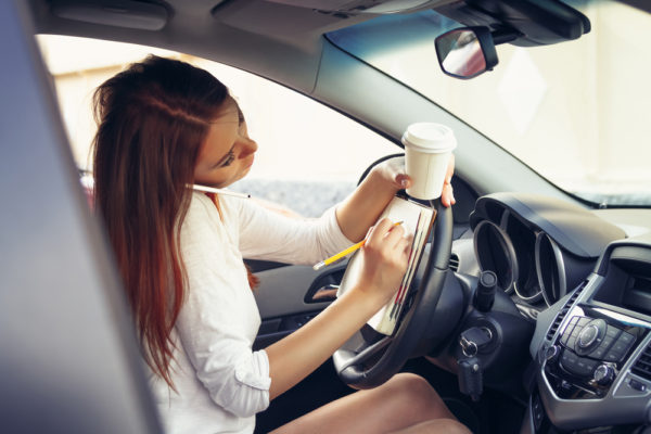 Distracted Driving causes