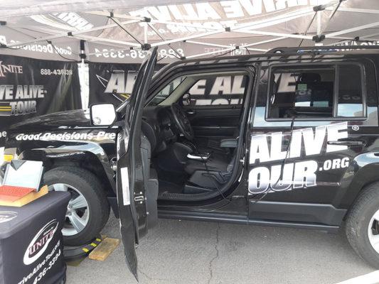 Arrive Alive Tour Drunk Driving Simulator
