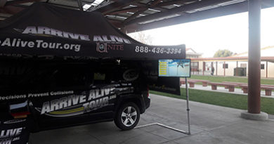 Texting and Driving Program - Arrive Alive Tour - Santa Maria HS