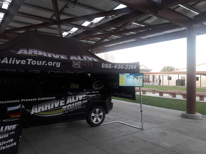 Texting and Driving Program - Arrive Alive Tour - Santa Maria HS