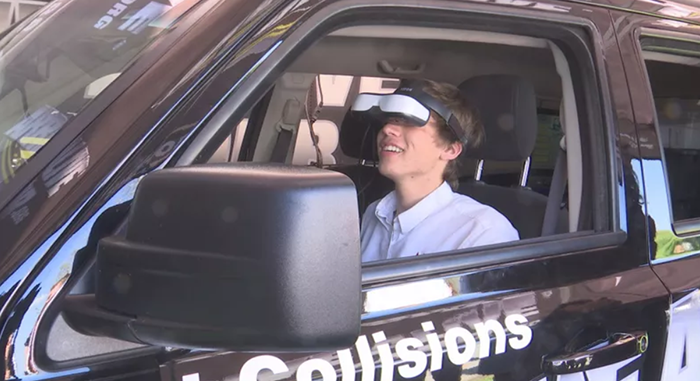 Distracted Driving Simulator shows consequences of texting and driving