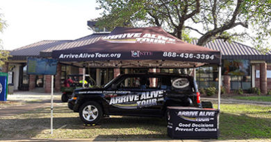 Texting and Driving Simulator - Arrive Alive Tour - Pensacola State College