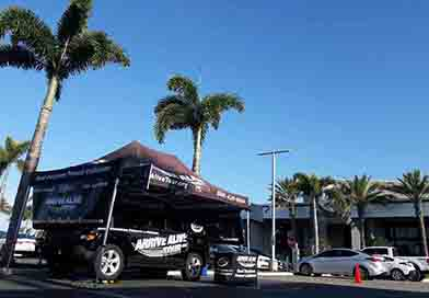 Distracted Driving Awareness Month - Arrive Alive Tour