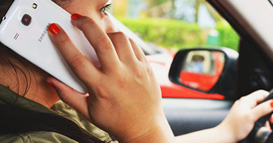 Distracted driving offenders by state