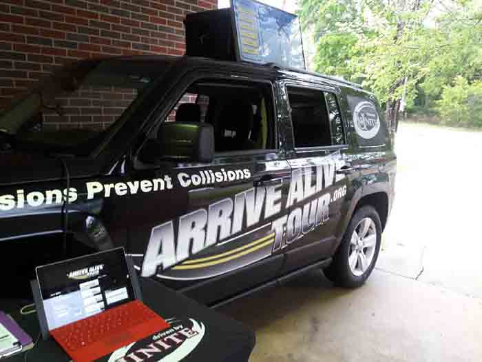 Drinking and driving program - Arrive Alive Tour