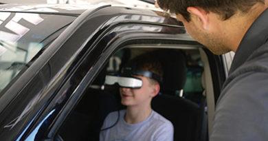 Distracted driving simulator - Yorktown High School