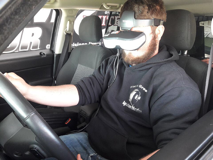 Distracted driving simulator arrive alive tour