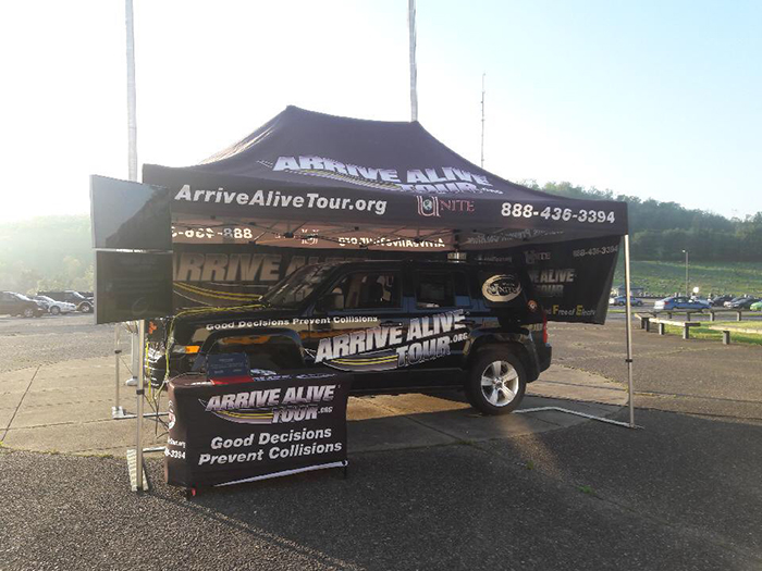 Impaired driving simulator - Arrive Alive Tour - Lincoln High School