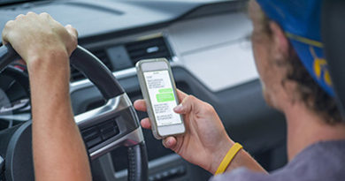 Texting while driving as dangerous as drunk driving