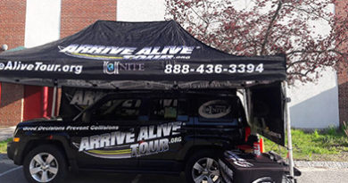 Texting while driving simulator - arrive alive tour yovaso