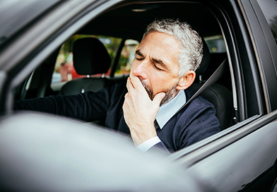 Drowsy driving compares to drunk driving
