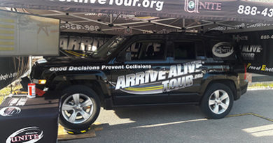Texting and driving programs - Arrive alive tour