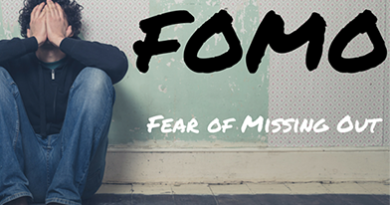 Texting while driving because of FOMO for young adults