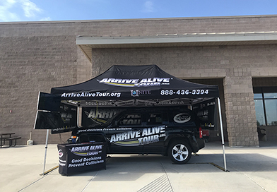 DWI Simulator - Arrive Alive Tour Fall 2018