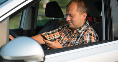 Texting and driving parents bad examples