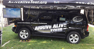 Drunk Driving Simulator - Arrive Alive Tour - Illinois Wesleyan University