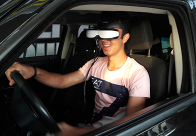 Drunk driving simulator - dangerous driving situations