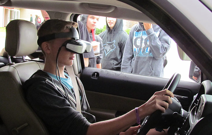 Texting and driving program - Strive 2 Arrive Alive program in Grand Rapids