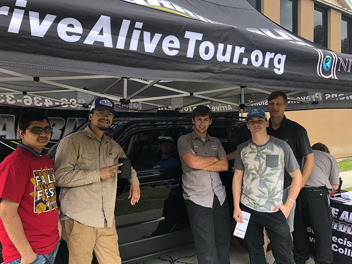 Drunk driving simulator travels nation - Arrive Alive Tour