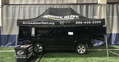 Impaired-driving-simulator-Arrive-Alive-Tour-William-Penn-University-indoor