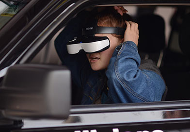 Distracted driving simulator - Harker School