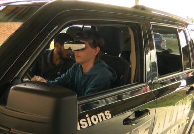 Happy Valley High students participate in 'Arrive Alive Tour' driving simulation